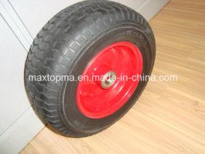 China Quality Wheelbarrow PU Foam Wheel pictures & photos