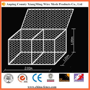 Galvanized or PVC Coated Hexagonal Gabion Wire Mesh pictures & photos