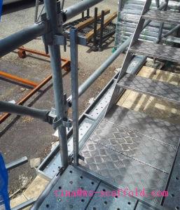 Kwikstage Scaffold Aluminum Stair Way