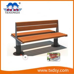 Steel Frame Wood Park Bench (TXD16-23001) pictures & photos