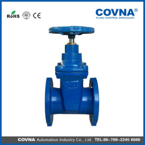 "10 "" Cast Iron Soft-Sealing Flange Gate Valve pictures & photos"