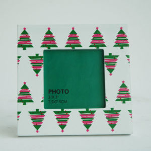 New En71 ASTM Standand Wooden Photo Frame for Christmas with Christmas Tree pictures & photos