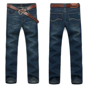 Fashion 2017 Men′s Cotton Slim Fit Jeans Denim Trousers