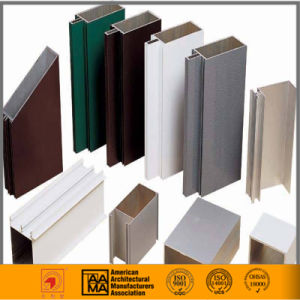 6063-T5 Aluminium Profile for Windows and Doors pictures & photos