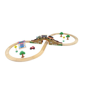 Figure 8 Train Set, Wooden Toy