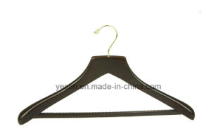 Yeelin Luxury Garment Usage Display Wooden Suits Hanger (YLWD-c5) pictures & photos