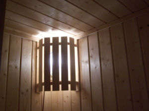 Wooden Traditional Sauna Room / Cabin with CD player radio (A-806) pictures & photos