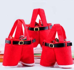Enough Stock Santa Pants Christmas Wedding Candy Bag (C-1) pictures & photos
