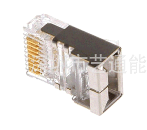 Cat. 5e Gold-Plated Shielded Network Crystal Head/RJ45 Connectors/8p8c Plug pictures & photos