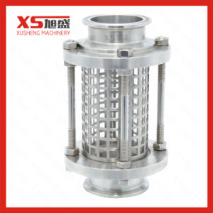 63.5mm Stainless Steel AISI304 Sanitation Butt Welded Sight Glass with Protection Net pictures & photos