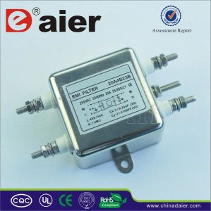 Electromagnetic 220V EMI Noise Filter pictures & photos