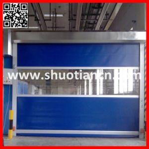 High Speed Automatic Roll up Shutter/Roller Shutter Door (ST-001) pictures & photos