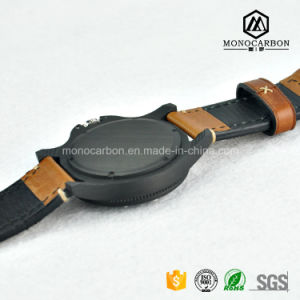Made in China Custom Best Quality Real Carbon Fiber Wrist Watch pictures & photos