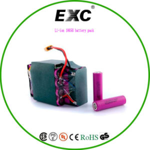 Scooter Battery Pack, 25p 18650 Li-ion Battery Pack Lithium Battery for Two Wheel pictures & photos