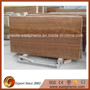 Chinese Gold Wood Grainy Yellow Marble Tile pictures & photos