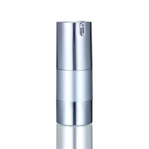 15ml 30ml 50ml Cosmetic Silver Aluminum Airless Bottle pictures & photos