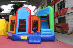 Rainbow Castle Inflatable Bouncer House/Kids Jumping Castle Air Bouncer Chb298 pictures & photos