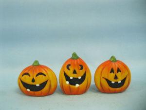 Halloween Pumpkin Ceramic Arts and Crafts (LOE2375-A5.5) pictures & photos