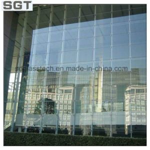 Clear Toughened Glass Curtain Wall pictures & photos