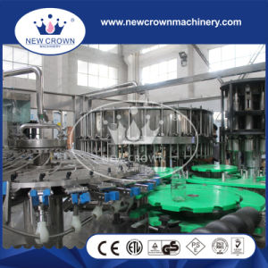 8000bph Glass Bottled Juice Filling Machine with Recycling System pictures & photos