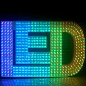 High Quality of LED Exposed Luminous Letters pictures & photos