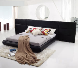 High End Genuine Leather Bed Set for Home or Hotel (LB-005)