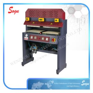 Thermo Lining Attaching Machine for Shoe Upper Making pictures & photos