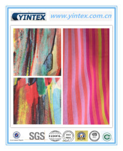100% Poly Crinkle Ggt Printed 75D Poly Fabric pictures & photos