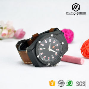 China Supply Personal Customized Real Carbon Fiber Sport Watch pictures & photos