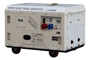 10kw Super Silent Electric Diesel Generator Air-Cooled pictures & photos