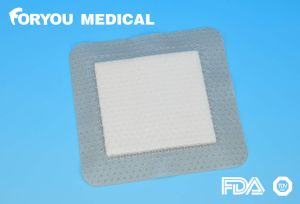 Medical Foam Dressing with Silicone Gel Layer pictures & photos