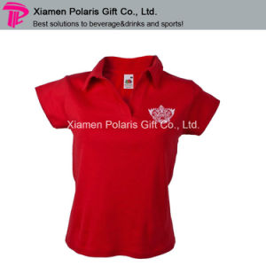 Smirnoff Cotton Waitress Polo Shirt for Marketing Campaign pictures & photos