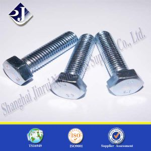 Fastener Cap Screw Hex Bolt (Zinc Plated) pictures & photos