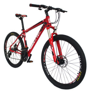 Direct Selling Aluminum Alloy Frame Suspension Mountain Bike pictures & photos