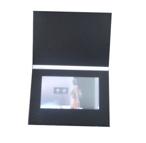 7.0inch LCD Video Card Folder pictures & photos