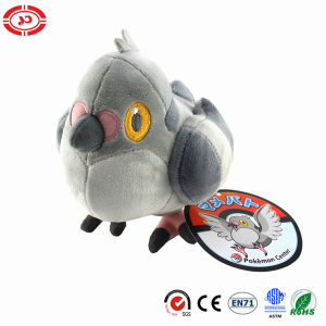 Poke Mon Cartoon Popular Stuffed Plush Bird Quality Toy pictures & photos