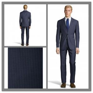 Bespoke Tailor Slim Fit 100% Wool Fabric Italian Style Trendy Suit for Men (SUIT61468) pictures & photos