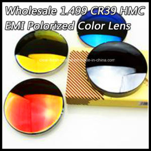 Wholesale 1.499 Cr39 Hmc EMI Polorized Color Lens pictures & photos