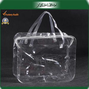 PVC Transparent Clear Plastic Cosmetics Bag/Wash Bag pictures & photos