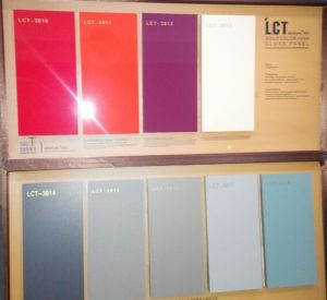 Anti Scratch Lct Glossy MDF Or Plywood For Kitchen Cabinet Door (LCT 3006)