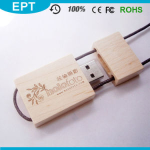 3D Engraving Logo Wood USB Flash Drive with Logo (TW013) pictures & photos