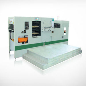Automatic Creasing and Die Cutting Machine with Stripping Station pictures & photos