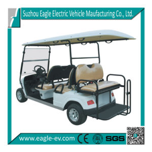 Electric Golf Carts, 6 Seats, CE Certificate, Factory Supply, Made in China, 4kw 48V, AC Motor, Eg2046ksf pictures & photos