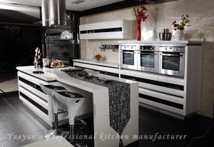 High Glossy Lacquer Kitchen Cabinet (S001)