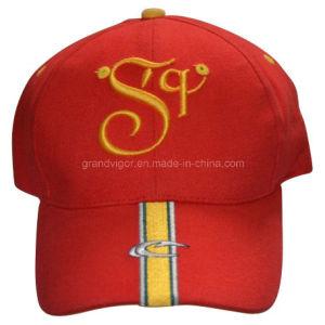Six Panels Club Sports Peak Cap with Custom Logo pictures & photos