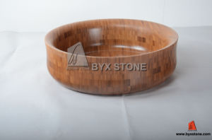 Bamboo Wash Basin/Sink for Kitchen, Bathroom and Hotel pictures & photos