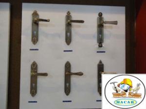 Diamond Square Shape Classic Door Handle Lock pictures & photos