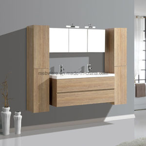 Hot Sale Bath MDF Furniture, Double Bowl Bathroom Vanities pictures & photos