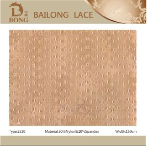Nylon/Spandex Stretch Lace Fabrics for Lady Dress