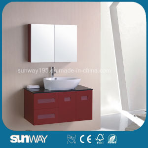 Hot Selling Bathroom Cabinet with Mirror (SW-M006) pictures & photos